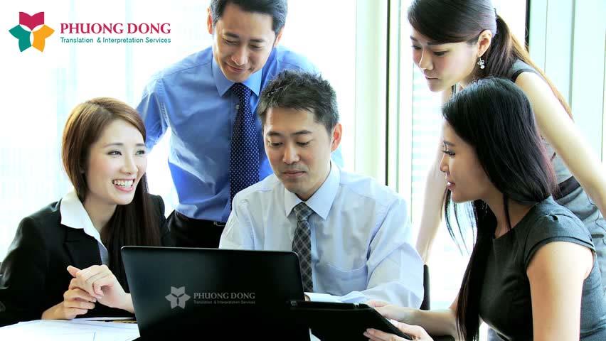 Dịch vụ phiên dịch tiếng Trung