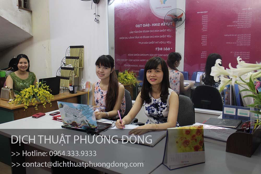 Cho thuê phiên dịch tiếng Nhật tại Thanh Hóa