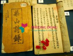 Bảng báo giá chi phí dịch thuật chữ Hán Nôm