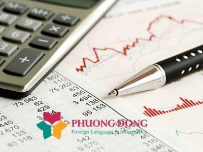 Dịch thuật báo cáo tài chính tiếng Pháp
