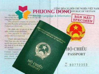 Dịch thuật visa, hộ chiếu tiếng Hàn