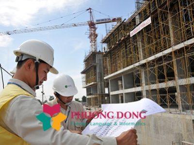 Dịch thuật tài liệu tiếng Hàn chuyên ngành xây dựng