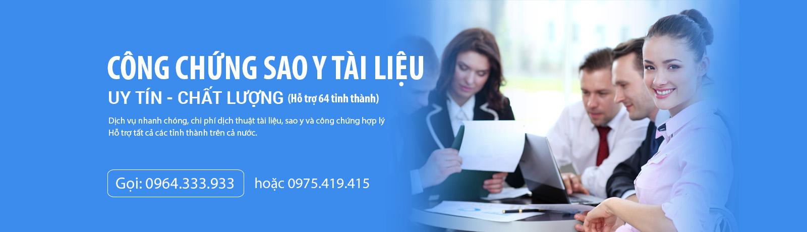 Dịch thuật sao y công chứng nhanh toàn Quốc