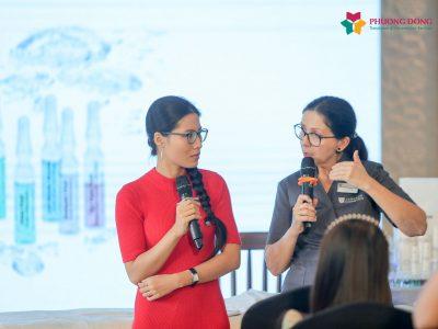 Phiên dịch tiếng Anh training nhân viên cho Dược Phẩm Không Già của Janssen Cosmetics
