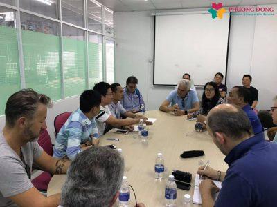 Phiên dịch tiếng Anh cho phái đoàn 10 nước Châu Âu tìm hiểu tình hình sản xuất nhựa phế liệu tại Việt Nam