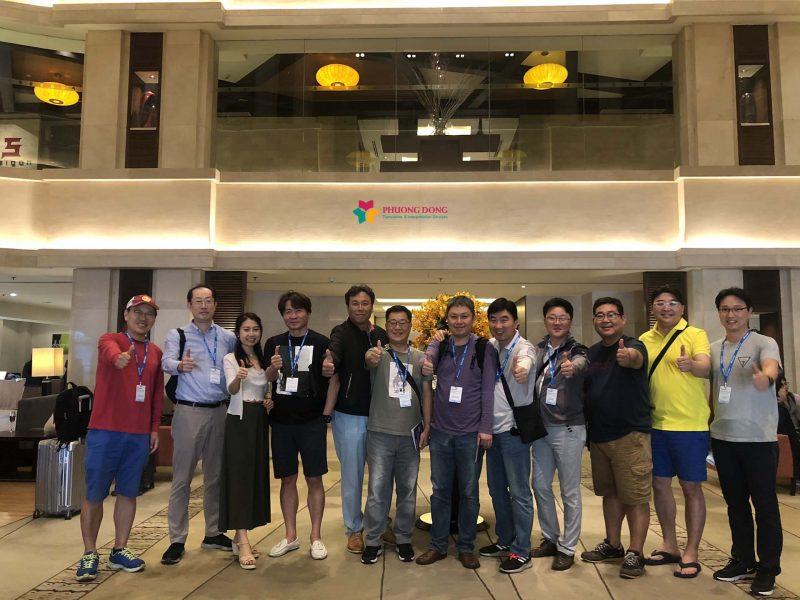 Phiên dịch tiếng Anh 02 ngày cho công ty Nga GazPromNeft du lịch tại Hà Nội