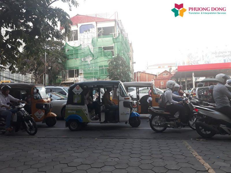 Phiên dịch Anh-Việt về thương thảo hợp đồng thuê mặt bằng mở phòng GYM cao cấp tại Campuchia