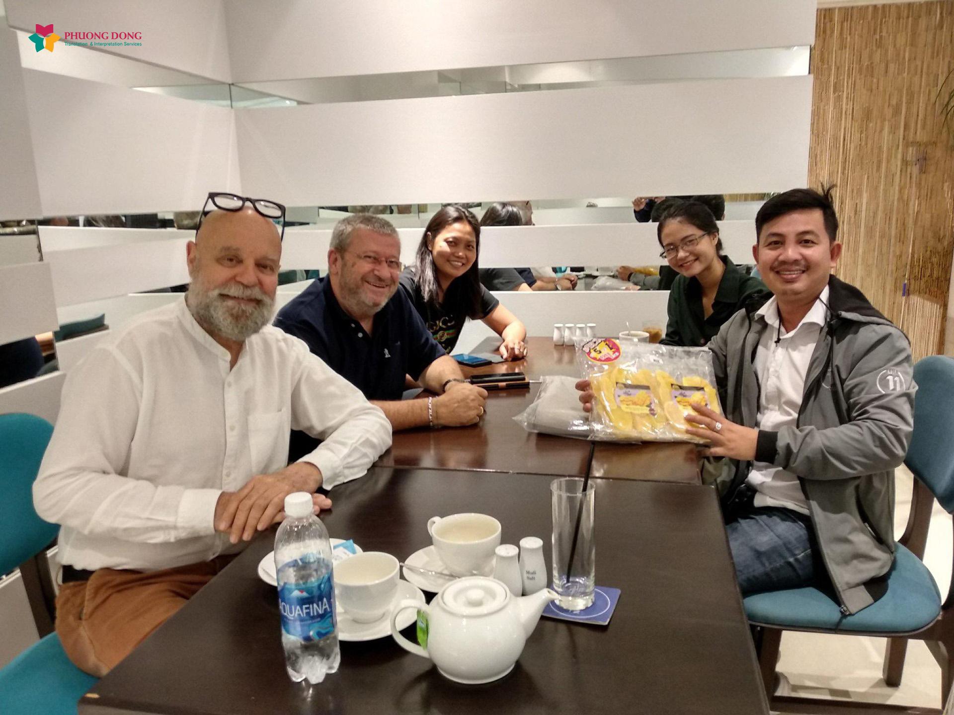 Phiên dịch Anh Việt về thẩm mỹ nội khoa cho công ty Image Skincare Việt Nam