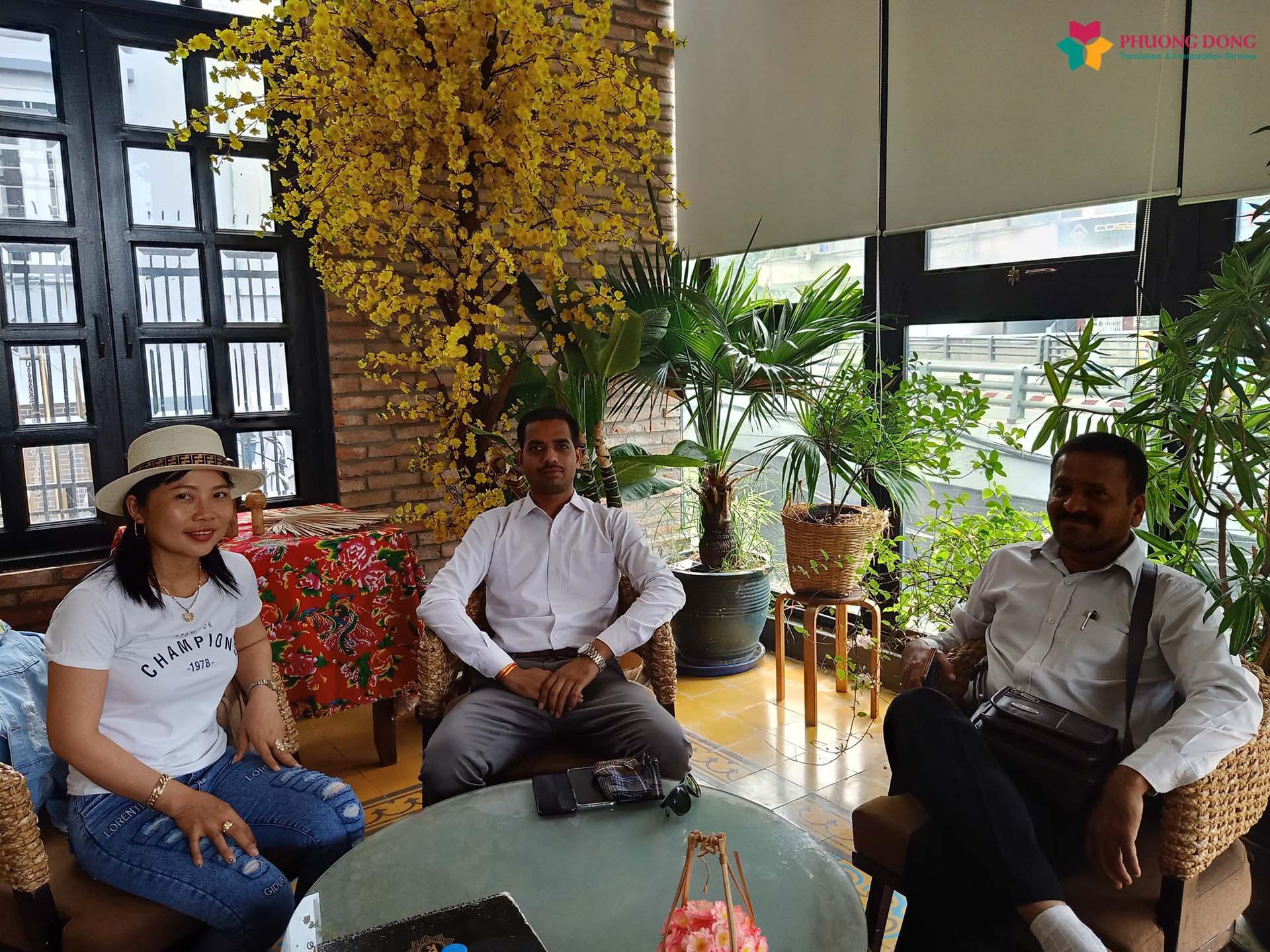 Phiên dịch Tiếng Anh về nông sản với đối tác Ấn Độ Tại Long An