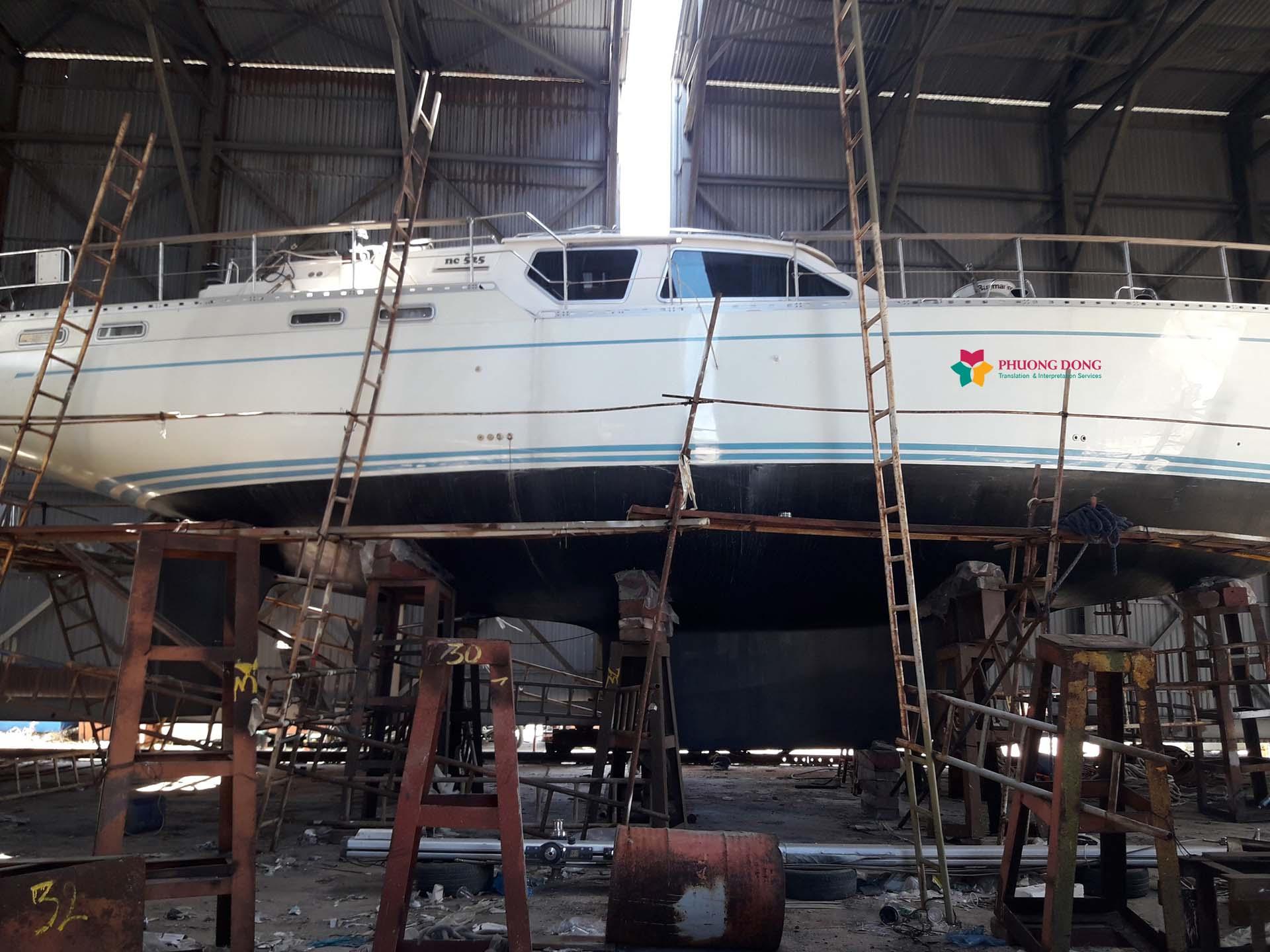 Phiên dịch tiếng Anh về du thuyền tại Cam Ranh - Khánh Hòa 1