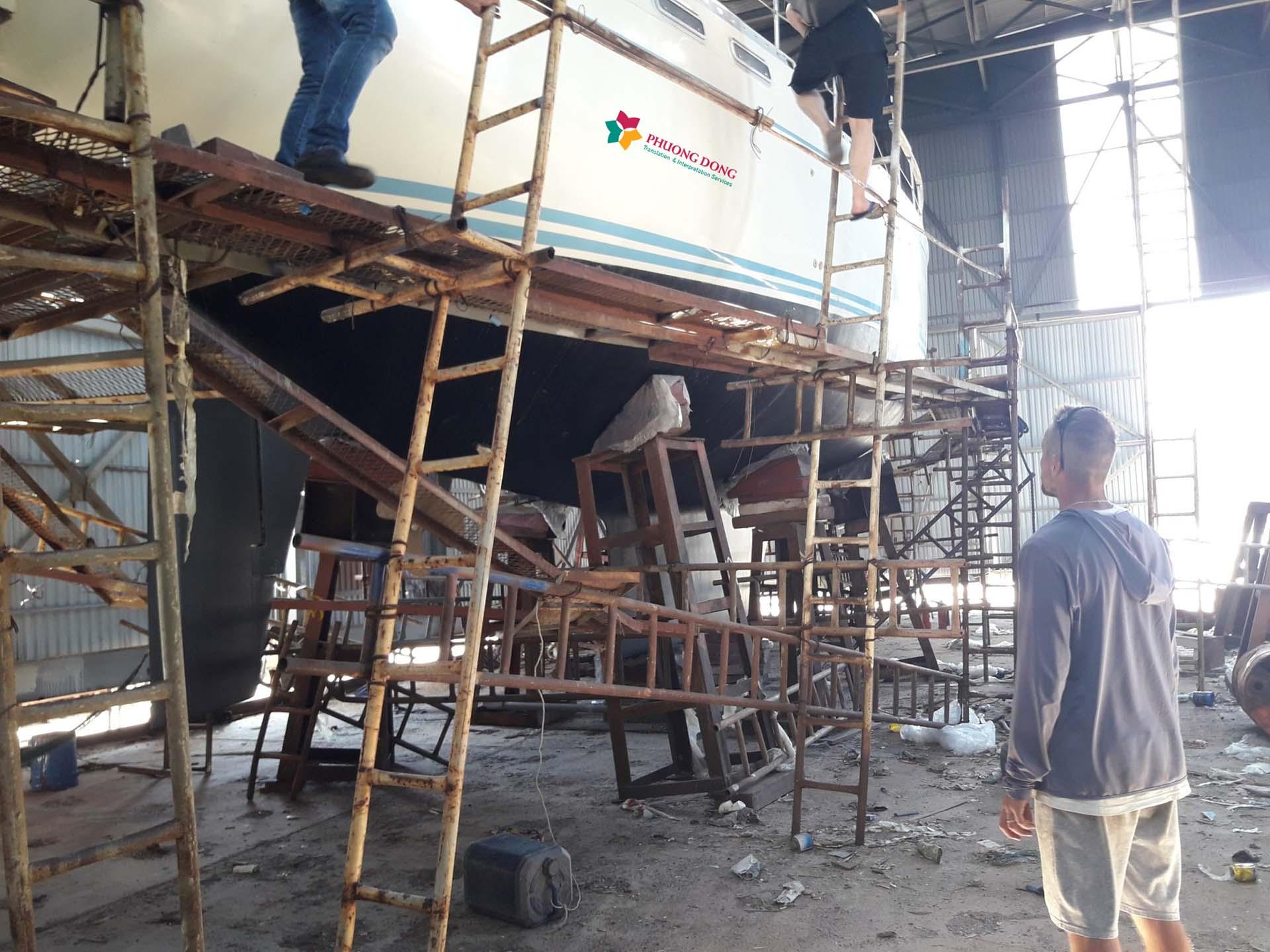 Phiên dịch tiếng Anh về du thuyền tại Cam Ranh - Khánh Hòa 2