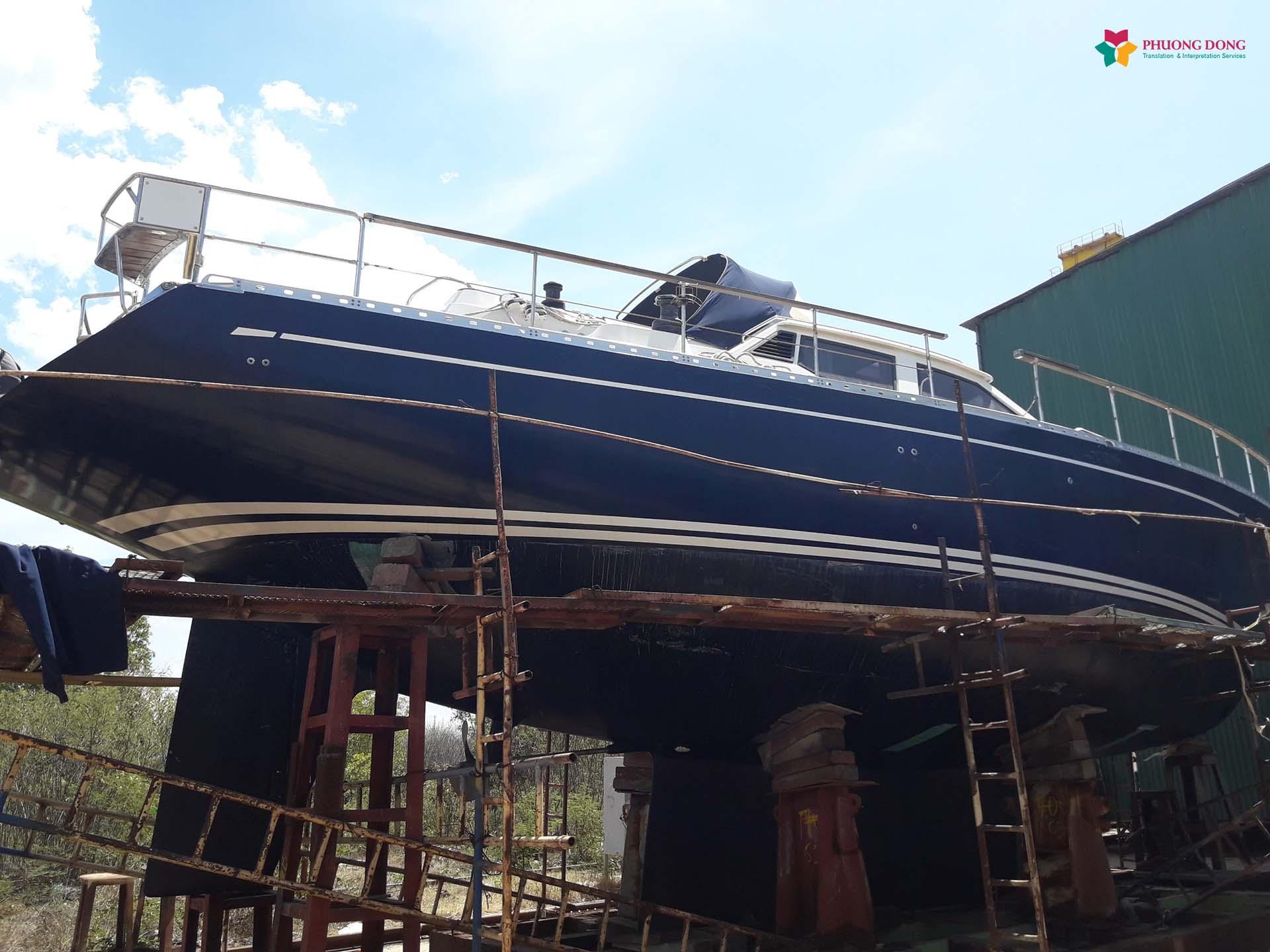 Phiên dịch tiếng Anh về du thuyền tại Cam Ranh - Khánh Hòa 5