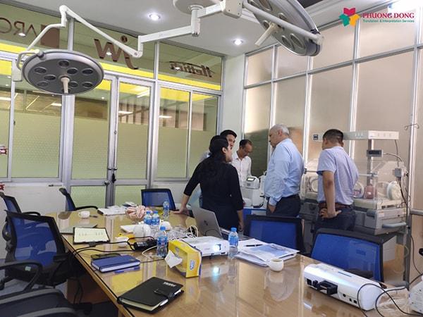 Dự án phiên dịch tiếng Anh chuyên đề thiết bị y tế tại Hà Nội