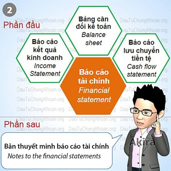 Dịch thuật báo cáo tài chính - Financial statement