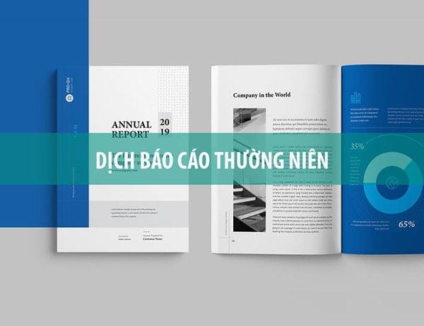 Báo cáo thường niên - Annual report
