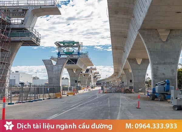 Dịch tài liệu ngành xây dựng cầu đường đạt chuẩn và uy tín