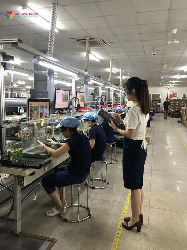 Phiên dịch tiếng Anh cho dự án của Bridgepower Vina tại Phú Thọ.